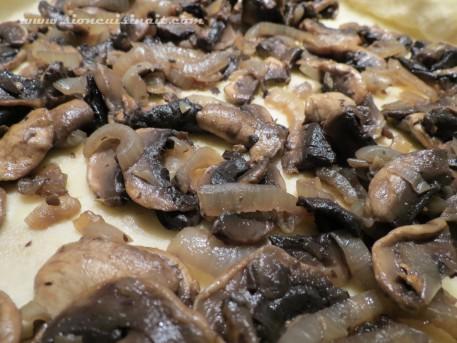 oignon champignons