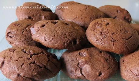 cookies orange chocolat
